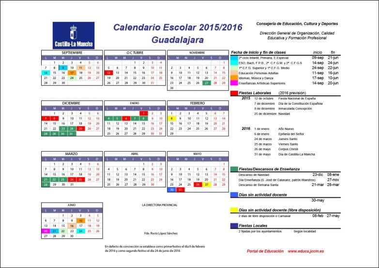 Calendario 2015-16_Guadalajara_última modificación