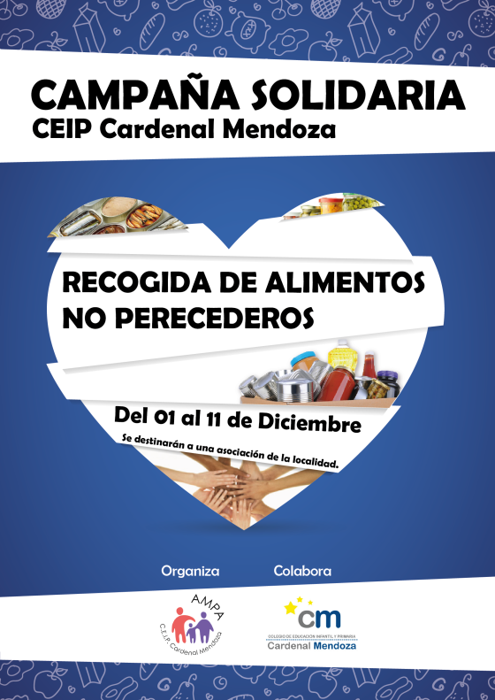 CAMPAÑA SOLIDARIA CEIP CARDENAL MENDOZA-01
