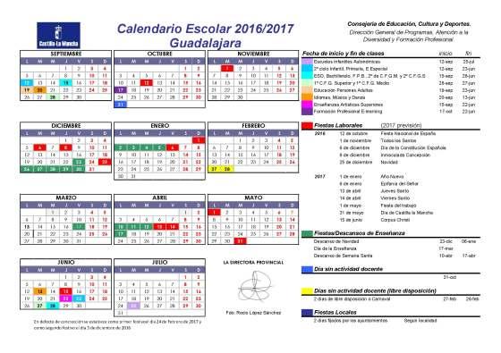 Calendario2016-2017.Guadalajara